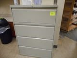 LATERAL FILE CABINET 4 DRAWER