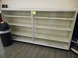 SHELVING WITH LOCKUP CASE 48