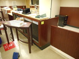 SERVICE COUNTER 22 FT WITH SWING DOOR AND 9 1/2 FT BACK COUNTER