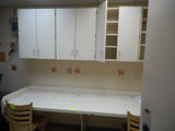 7 1/2' WALL CABINETS & COUNTER
