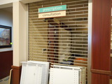APPROX 4' PHARMACY GATE AND COUNTER