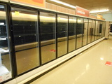 FROZEN FOOD GLASS DOORS PER DOOR NO LEFT END 4X 2DR, 1X5 DR