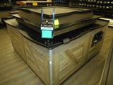DRY PRODUCE DUMP TABLE 6FT X 9 FT
