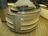 DRY PRODUCE DUMP TABLE 1/2 MOON