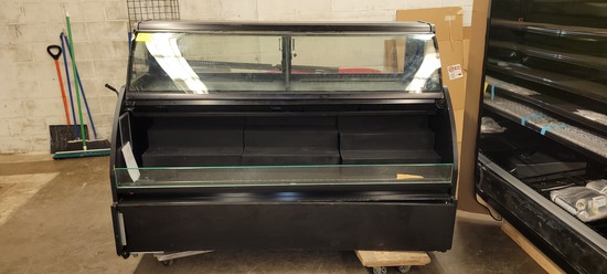 SERVICE CASE 6' WITH SERVICE TOP AND SELF SERVE FRONT, SELF CONTAINED AND L