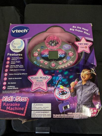 Vtech Kids Karoake Machine