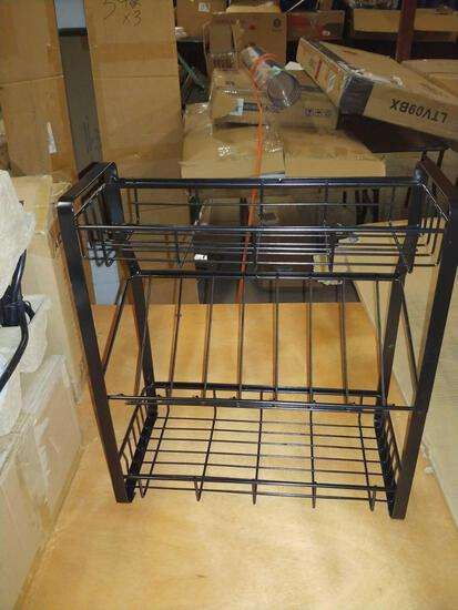 Bathtub tray/Spice rack/Bathroom hanging rack