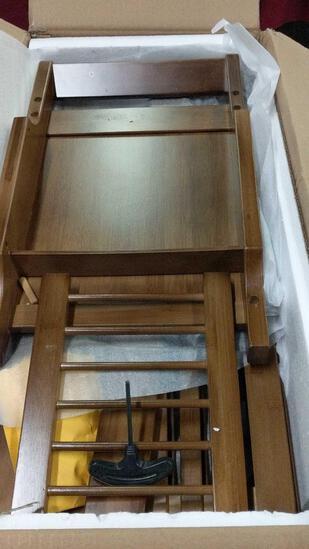 Coat Rack/Shelf Unit/Bench