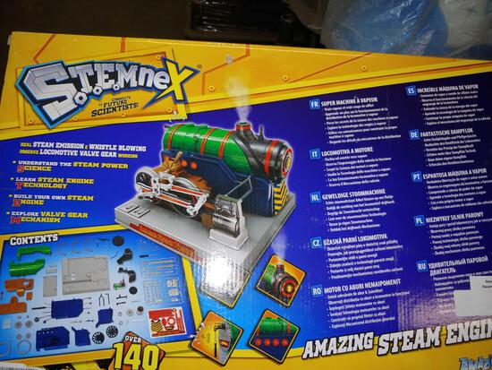 Amazing Steam Engine.