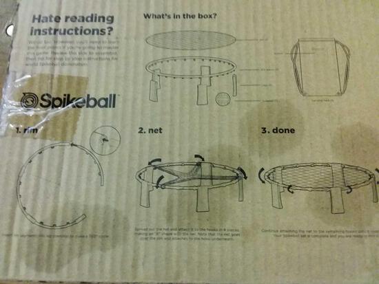 Spikeball game
