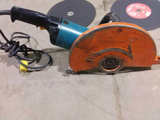 Electric cutting saw