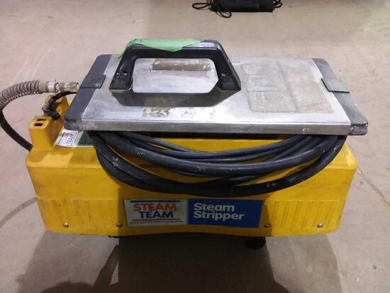 Portable steam stripper