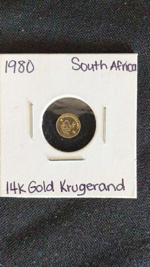 Krugerand Replica Coin