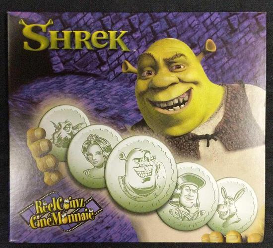 Shrek Medallion Set
