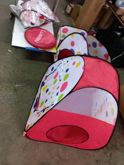 Assorted tents for kids