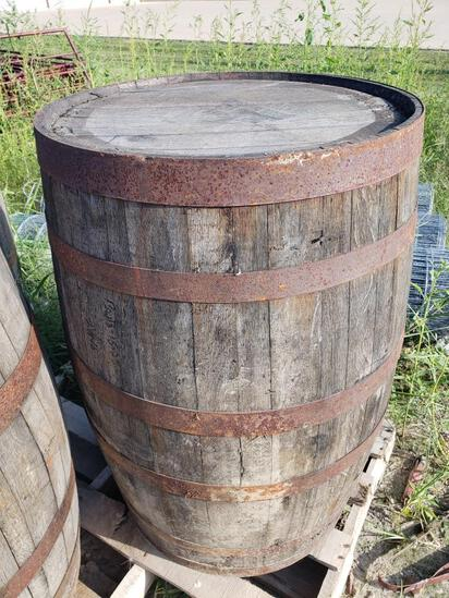 Complete Used Whisky Barrel