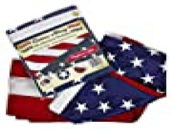 3' x 5' US Flag - 100% Made in USA - Heavy Duty