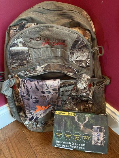Hunting Package-Backpack and a Cam-Pak T45A Trail Camera