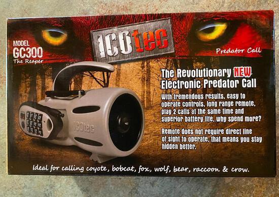 ICOtec Electronic Predator Call w/ remote, GC-300, The Reaper