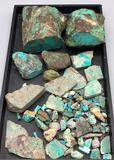 Turquoise Rough Cut Slabs and Pieces