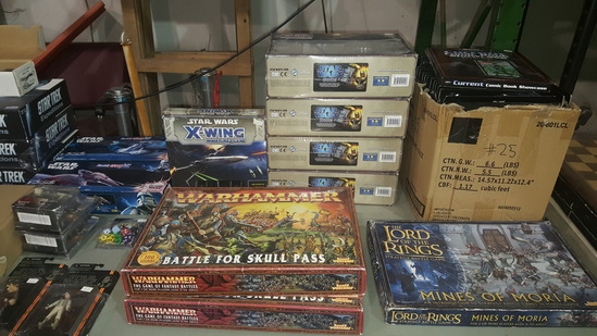 Game store liquidation