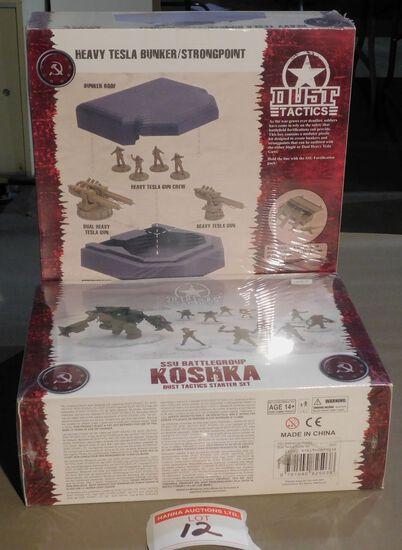 Dust Tactics miniatures & starter set