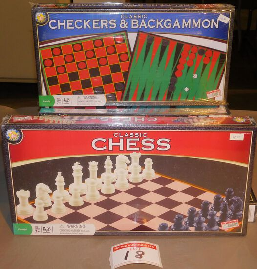 Chess & Backgammon games