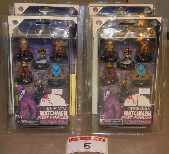 Watchmen Fast Forces miniatures
