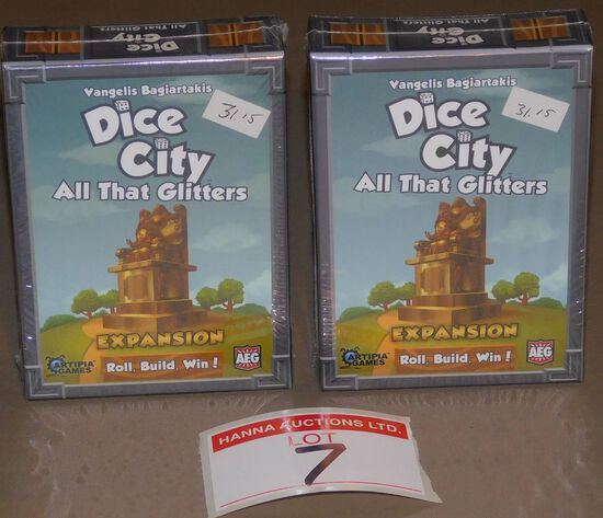 Dice City Expansion packs