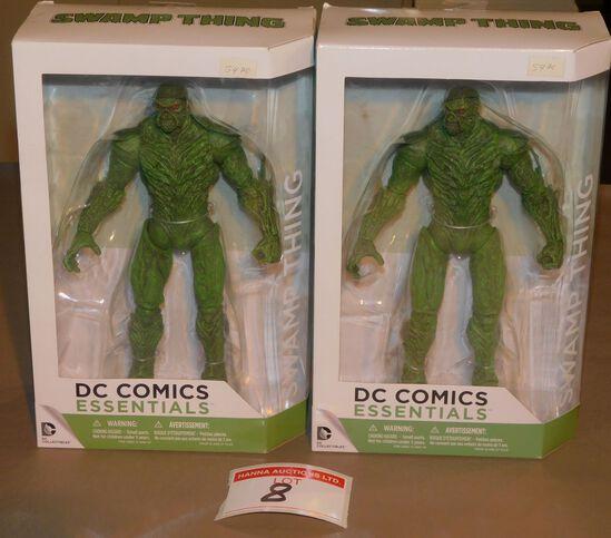 DC Comics Swamp Thing figurines