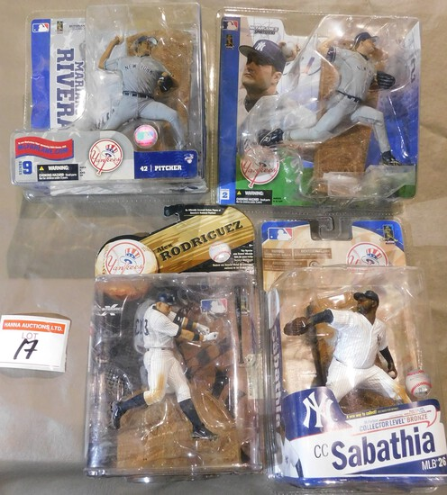 Baseball Figurines
