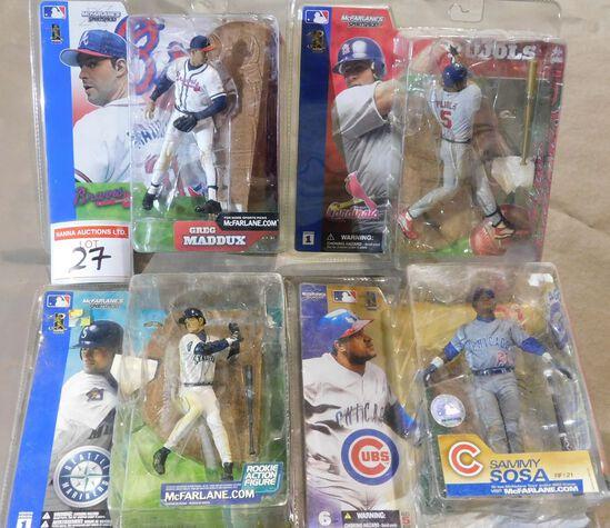 Baseball Figurines