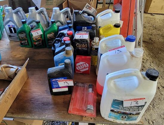 Engine Oils & Antifreeze