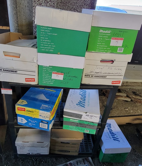 Rack & File Folders
