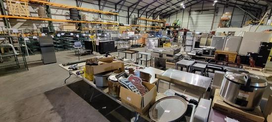 Overstock & Surplus Restaurant Equipment