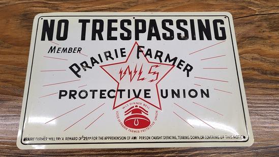 Nos Praire Farmer Sign