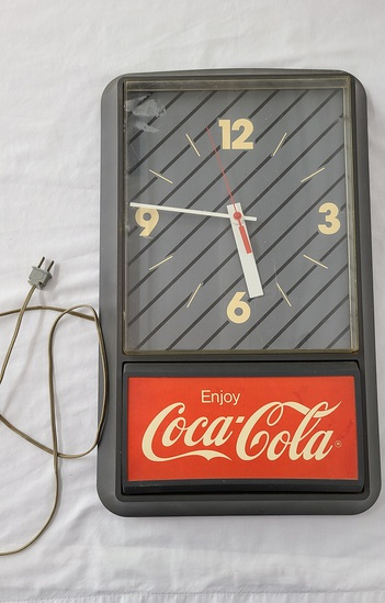 80's Coca-cola Clock