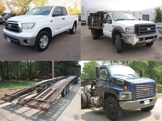 September Vehicle and Equipment Consignment
