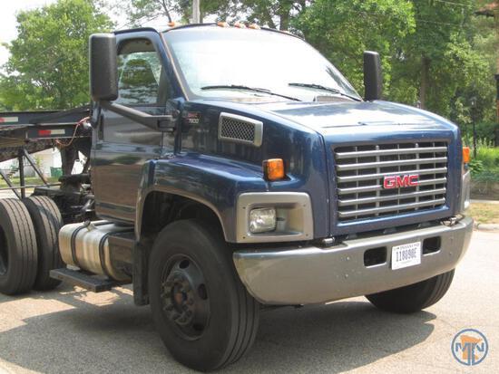 2009 GMC Topkick C7500 Truck