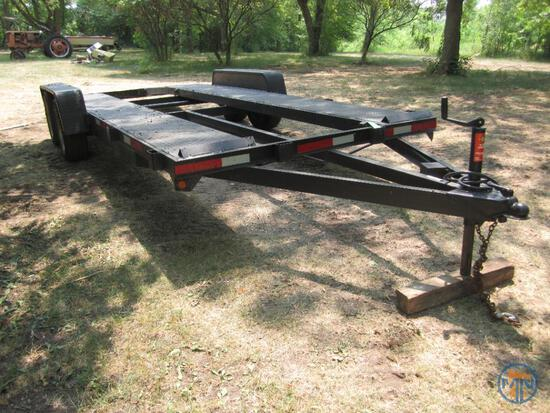Homemade Tandem Axle Trailer *Bill of Sale* No Title