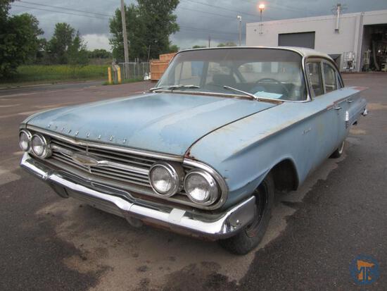 1960 Chevrolet Biscayne Four Door Sedan