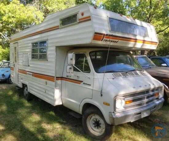 1976 Dodge Rockwood RV Motor Home