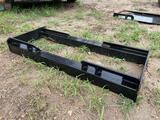 2021 Mower King Fork Back Plate