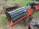Bobcat Sweeper Attachment for Skidsteer