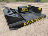 2021 MOWER KING SSRC 72 In. Hydraulic...Brush Cutter...Skid Steer Attachment