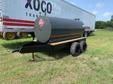 Trailer Mounted 1000 Gallon Fuel Tank