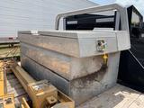 Aluminum Tool Box with Fuel Tank