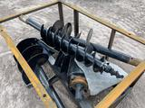 2021 MOWER KING SSECAG-Y Auger Skid Steer Attachment