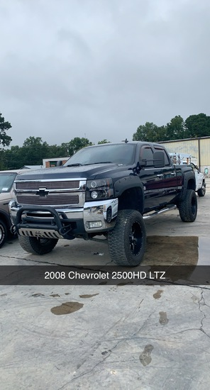 2008 Chevrolet 2500 Lifted 213,841 MILES VIN 1318