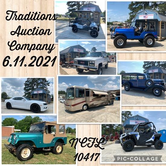 Traditions Auction Co LLC June Auto & ATV